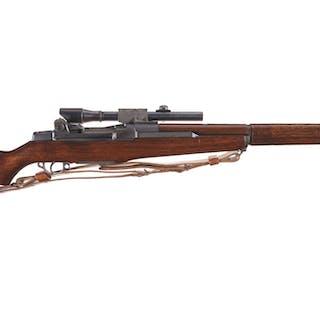 U.S. Springfield M1D Semi-Automatic Sniper Rifle w/ Lyman Scope