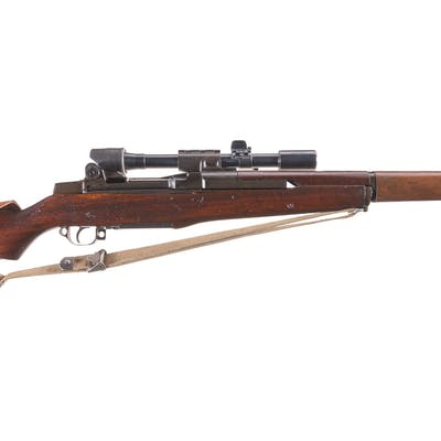 U.S. Springfield Armory M1D Sniper Rifle with M84 Scope