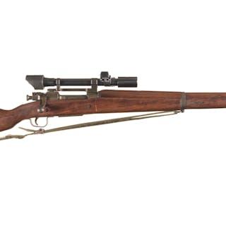 World War II U.S. Remington Arms Model 1903A3 Sniper Rifle