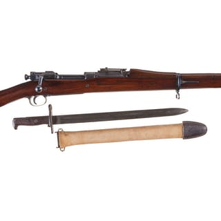 World War I U.S. Rock Island Arsenal Model 1903 Rifle w/ Bayonet