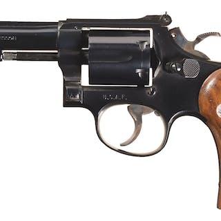 USAF S&W Model 15-2 K-38 Combat Masterpiece Revolver, Holsters