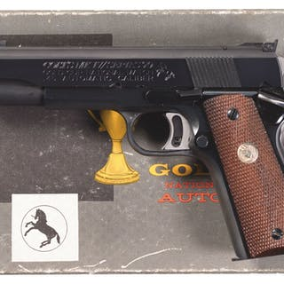 Colt Mk IV Series 70 Gold Cup National Match Pistol