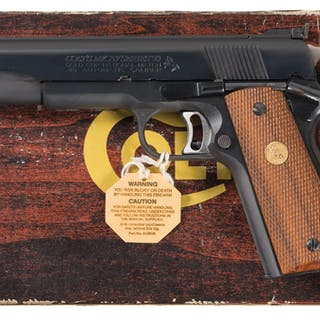 Colt Gold Cup National Match Pistol with Box