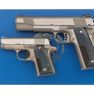 Boxed NRA Matched Set of Colt Semi-Automatic Pistols