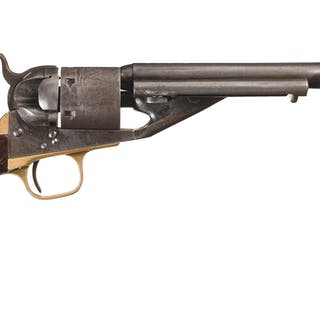 U.S. Navy Cartridge Conversion Colt Model 1861 Navy Revolver