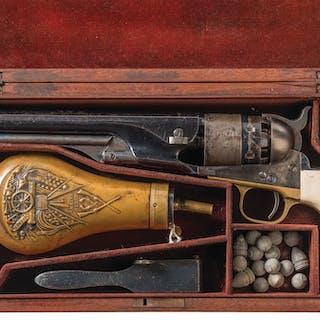 Cased Colt Model 1860 Army Percussion Revolver