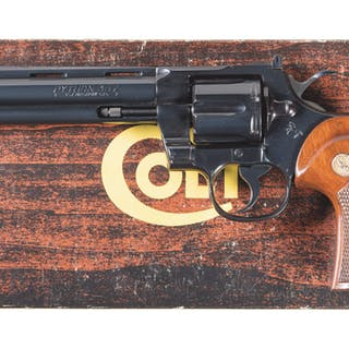 Colt Python Double Action Revolver with Box