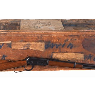 Winchester Model 1894 Saddle Ring Carbine with Shipping Crate