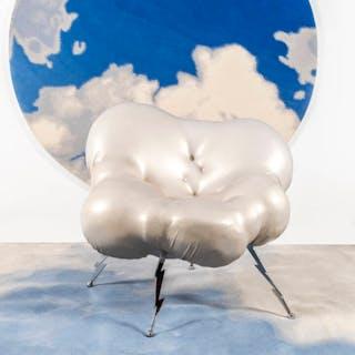 Poltrona a forma di nuvola