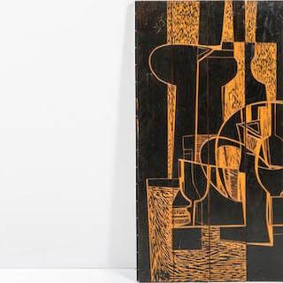 Pannello decorativo costituito da elementi in legno...