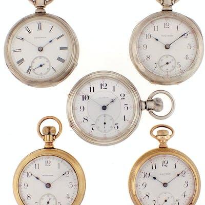 DESCRIPTION: Pocket watches- 5 (Five)