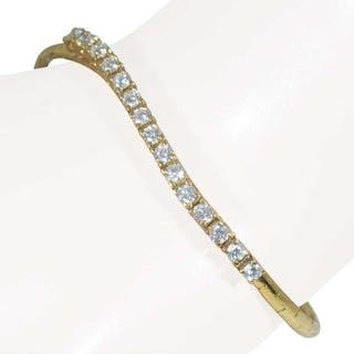 Gelbgoldenes Diamant-Armband mit Diamanten 0,919ct von Wempe