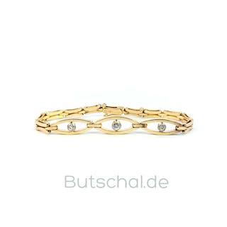 Goldschmuck | Dekoratives Set bestehend aus Armband aus 585 Gold und