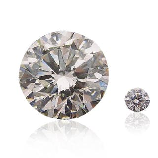 63.87 Carat Diamant Brillant D VVS2 GIA CERTIFIED
