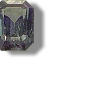 Alexandrit Smaragdschliff 0,38ct