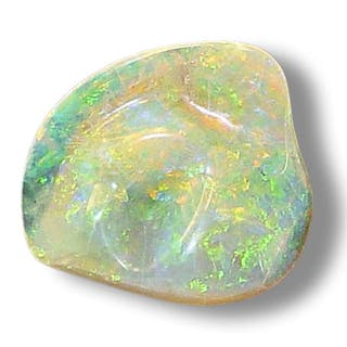 geschliffener Opal 25,51 ct
