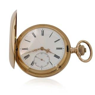 IWC Schweizer Herren Taschenuhr 14 kt Roségold | Uhren