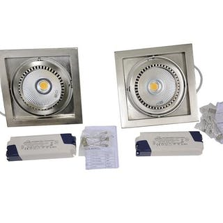 2 st LED Vita Oro 28W 1500 Lumen