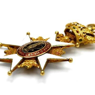 Medalj Vasaorden 18K