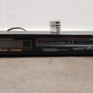 Stereo Tuner Fisher