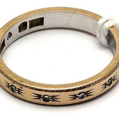 Ring 18K vitguld Ø16½