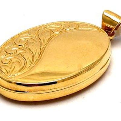 Medaljong 18K 4,2g