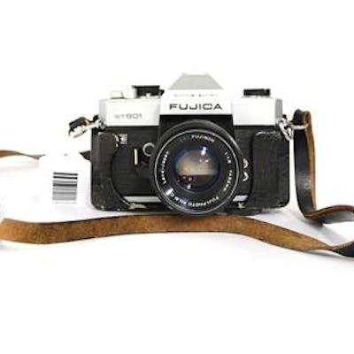 Analog kompaktkamera Fujica ST901 Auto Electro med rem