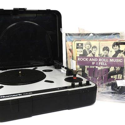 Skivspelare, Numark med vinylsinglar