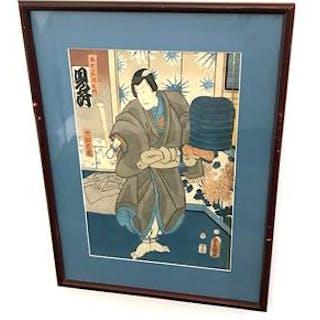 Japanskt träsnitt
