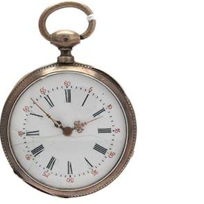 Fickur silver Paris tidigt 1800-tal