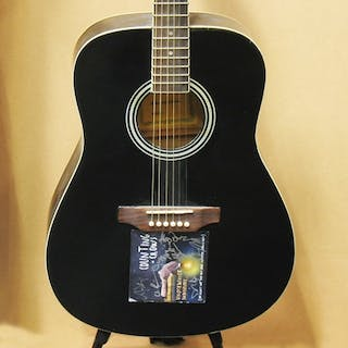 COUNTING CROWS AUTOGRAPHED ACOUSTIC GUITAR