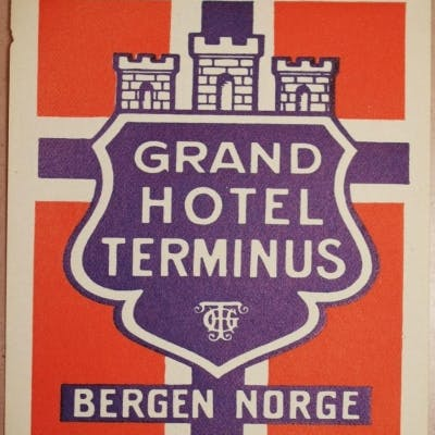 GRAND HOTEL TERMINUS BERGEN NORGE