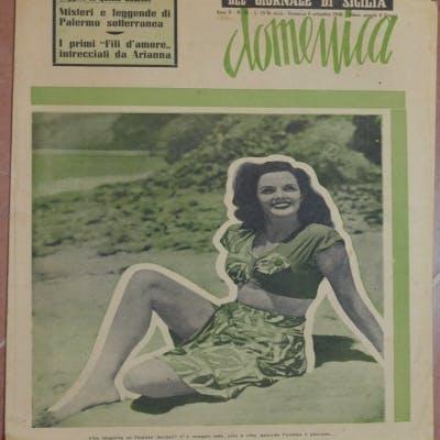 DOMENICA DEL GIORNALE DI SICILIA ANNO II - N. 36 - DOMENICA 8 SETTEMBRE 1946