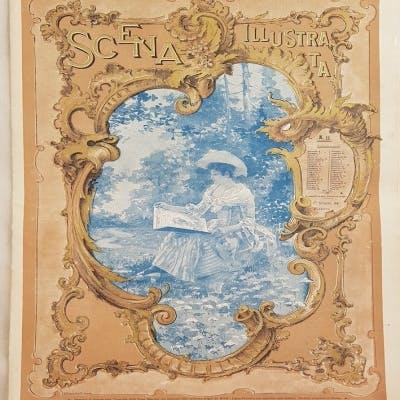 SCENA ILLUSTRATA FIRENZE 1 GIUGNO 1894