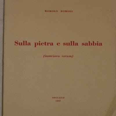 SULLA PIETRA E SULLA SABBIA (INTERIORA RERUM)