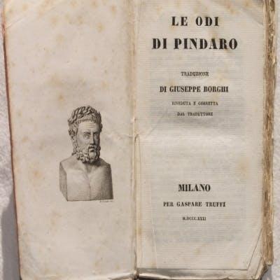 LE ODI DI PINDARO TRADUZIONE DI GIUSEPPE BORGHI