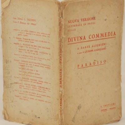 LA DIVINA COMMEDIA NUOVA VERSIONE LETTERALE IN PROSA A CURA DI GIUSEPPE