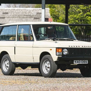 1979 Range Rover (Suffix F) 2-door