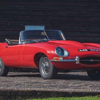 1961 Jaguar E-Type Series 1 3.8 'Flat Floor' Roadster