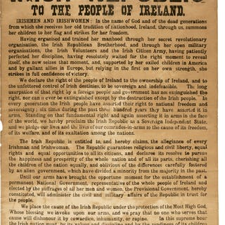 Poblacht Na H Eireann. The Provisional Government of the Irish Republic