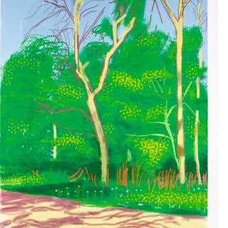 Hockney, David - The Arrival of Spring in Woodgate, East Yorkshire