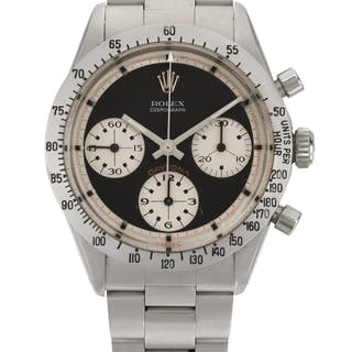 ROLEX  DAYTONA PAUL NEWMAN, REFERENCE 6239 STAINLESS STEEL CHRONOGRAPH
