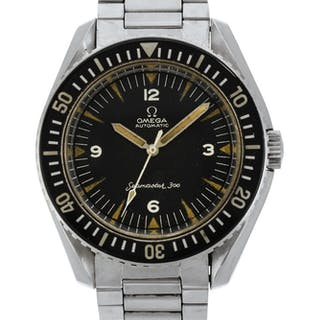 OMEGA  SEAMASTER 300, REFERENCE 165.024-64 STAINLESS STEEL WRISTWATCH