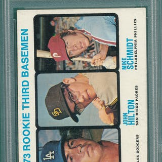 1973 Topps 615 Mike Schmidt Psa 7 Rookie Current Sales