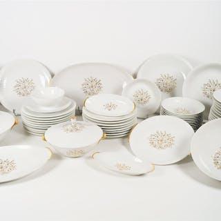 LIMOGES - Manufacture Royale de Porcelaine : Service de...
