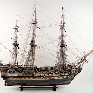 LE VICTORY : Vaisseau de l'escadre anglaise de 3 ponts