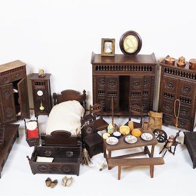 Important mobilier breton