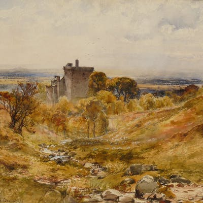 John Blair (fl 1880-1920) - Campbell Castle