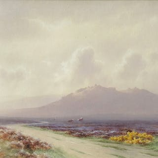 Charles Edward Brittan jnr (b. 1870) - Staple Tor from the North