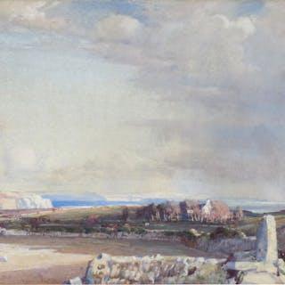 Samuel John Lamorna Birch, RA, RWS (1869-1955) - Western Fields & Bays